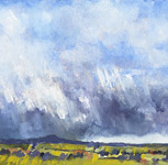 Distant Storm - North Cumbria
